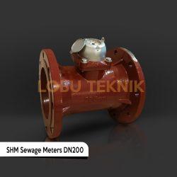 meteran limbah shm sewage meters dn200
