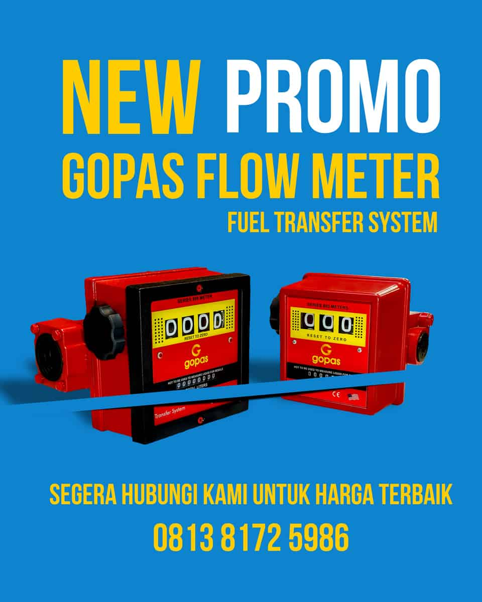 Gopas Flow Meter mantap